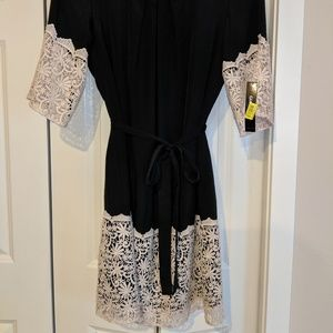 NWT Gianni Bini Lace Belted Dress